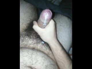 Croatian hairy 20yo boy morning cum