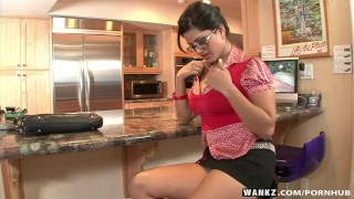 Preview 1 of WANKZ- Sunny Leone Gets Naked And Masturbates