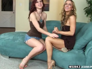 WANKZ- Karlie And Mia Lez Out