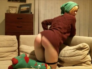 happy special holidays naughty help santa claus needs punished by spanking