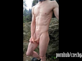 TEEN BOY WANK OUTSIDE PART 3