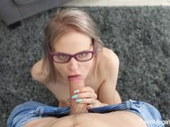 TeenMegaWorld.net-Herda Wisky-The Random Sex Encounter with a Nerdy Blond
