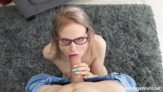 TeenMegaWorld.net-Herda Wisky-The Random Sex Encounter with a Nerdy Blond