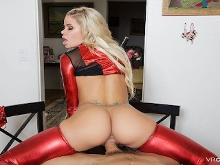 VRCosplayX.com Busty Jessa Rhodes Is Horny Lady Deadpool