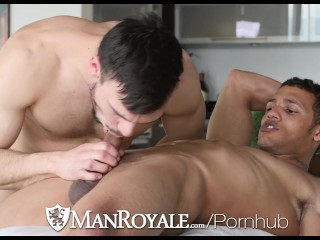 ManRoyale Kevin Blaise pounds Jason Maddox tight ass