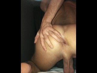 A horny night with my asshole + cumshot