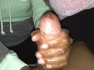 Power in hands 2. . Ex girlfriend handjob cumshot