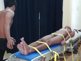 Asian Twink Benjamin Loves Getting Tickled