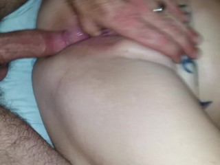 Anal for my submissive whore wife