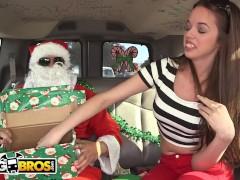 BANGBROS - A Very Bang Bus Christmas with Mia Monroe and Santa Claus