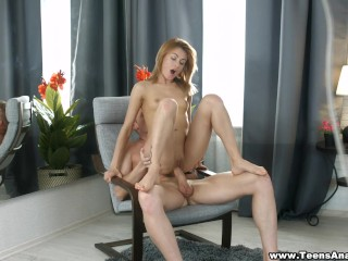 Teens Analyzed - Jenna - New dress and first anal sex