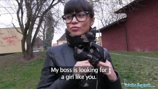 Preview 1 of Public Agent Ejaculating in a Russian Babes Pussy