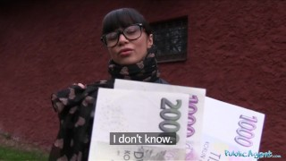 Preview 3 of Public Agent Ejaculating in a Russian Babes Pussy