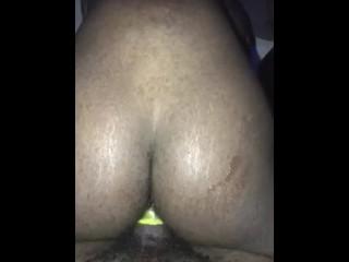 The biggest dick I've taken. I used hella lube