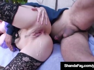 Canadian Housewife Shanda Fay Is Banged By Lucky Camera Guy!