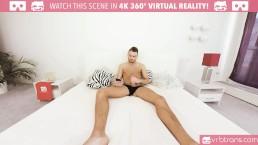 VRB Trans - MY FIRST ANAL TS THREESOME