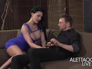 Aletta Ocean - Threesome - alettAOceanLive