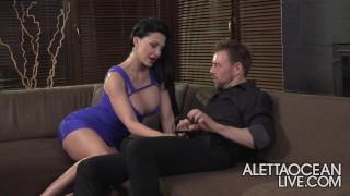 Aletta Ocean – Threesome – alettAOceanLive