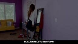 BlackValleyGirls - Hot Ebony Teen Fucks Best Friends Dad