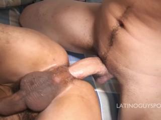Rimming my latino ass.