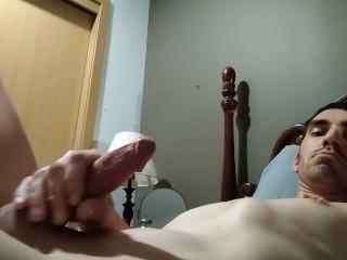 Rubbing my cock
