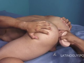 FUCKING LATINO BOYFRIEND WITH A HUGE COCK