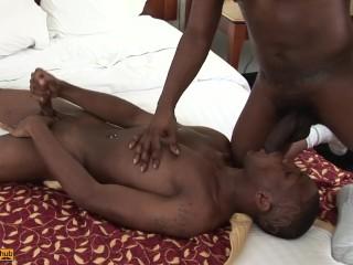 Shy Gay Thug Takes Dick