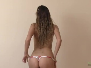 Strip dance Katya Clover