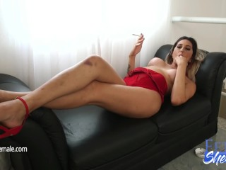 Horny elizabeth is ready for cock