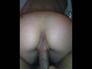 bubble bath with bubble pov but reverse cowgirl on her bbc