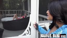 Latina Sex Tapes - Petite Latina Fucks on the Deck starring Kira Adams