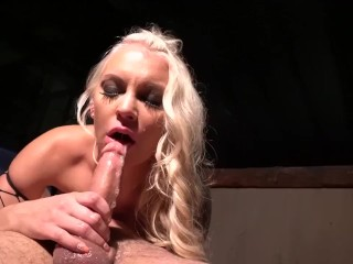 Kenzie Taylor fucked in her pretty face