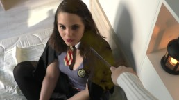 Hermione sucks dick under the influence of the Imperius curse