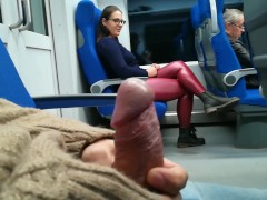 Stranger Jerked and blowjob me in the train | Porn-Update.com