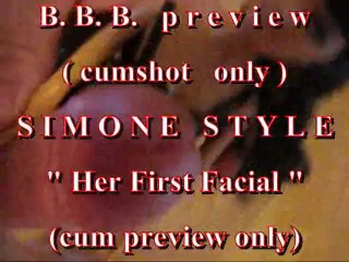 """BBB preview: Simone Style """"Her First Facial"""""""