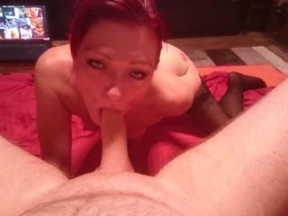 Kinky slutwife stunning bj ! she needs to be a bitch slut