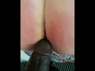 White slave for Monster BBC