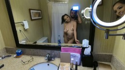 Aaane87- My GF gives me Sexy dance while she getting Dolled Up