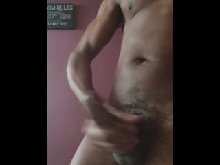 Cumshot while sister in-law took a shower... Must see!
