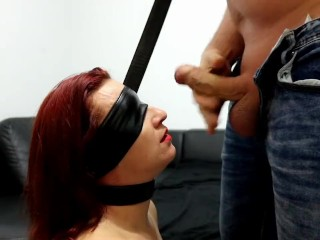 Polish Redhead Get Spanked and Fucked From Behind Then Eat Cum