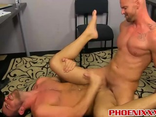 Mitch Vaughn licks Parkers ass before sticking his cock in