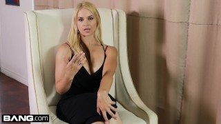 Preview 2 of BANG Confessions - Sarah Vandella gets anal & deepthroat on tour