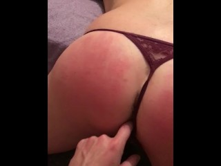 White girl slapped and whipped
