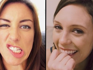 CUTE PORN GIRLS TURNED INTO CUM DRUNK SLUTS - CUTE MODE SLUT MODE - R&R02