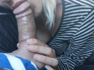 Sucking cock to pay for a lift