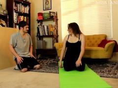 Yoga Pants Facesitting Miss Jane Judge and Fluffy