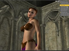 How to animate a striptease in 3d animation