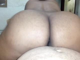 Sex with my big ass girlfriend