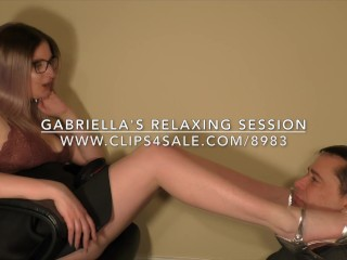 Gabriella's Relaxing Session - DreamgirlsClips.com
