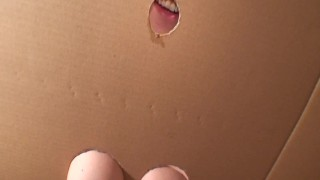 DIY Homemade Gloryhole! Britney's Private Gloryhole Swallow. Build your own  amateur glory hole wife swallows cum gloryhole swallow homemade girlfriend gloryhole busty britney swallows european gloryhole secrets gloryhole amateur big boobs glory hole homemade cum swallow amateur cum swallow cumtrainer swallowing cum